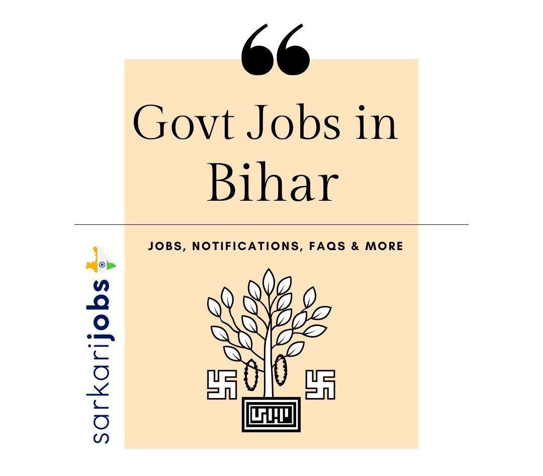 Bihar Govt Jobs