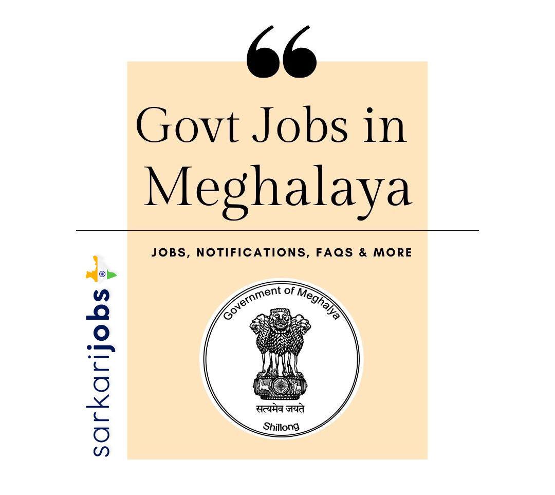 Meghalaya Govt Jobs